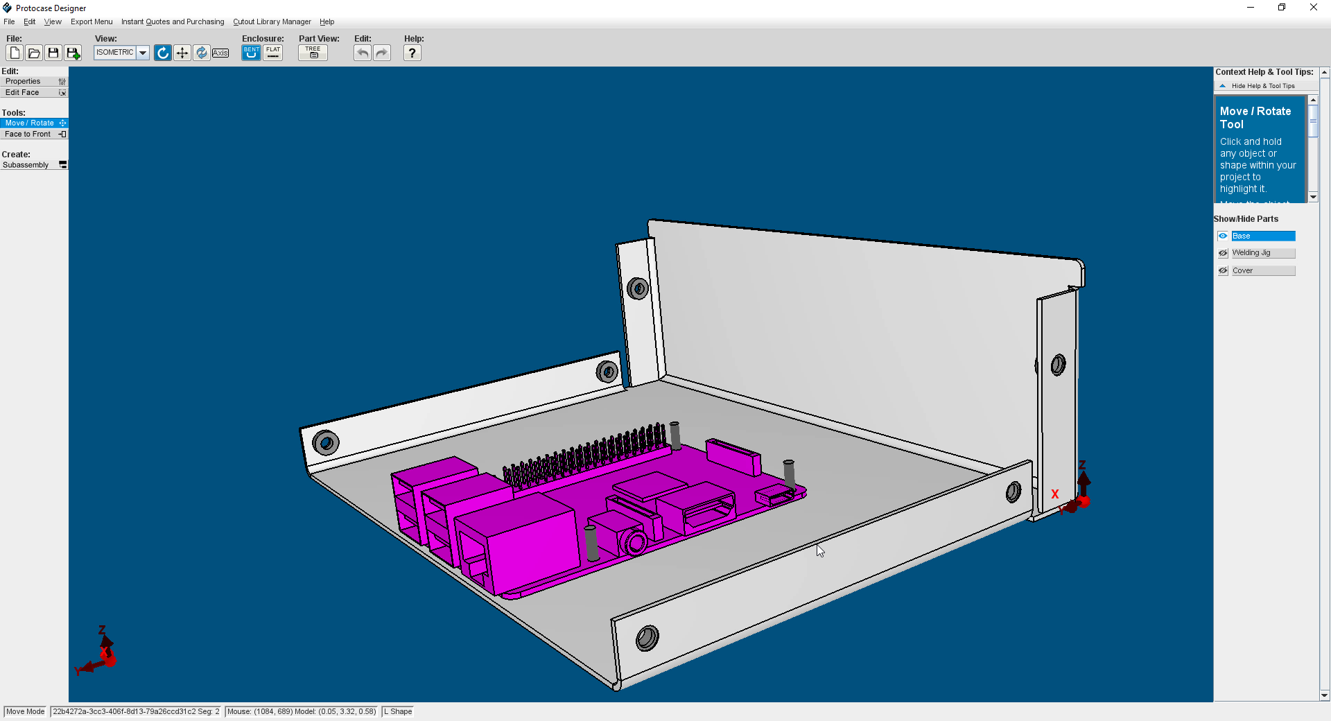 Protocase Designer 5.0