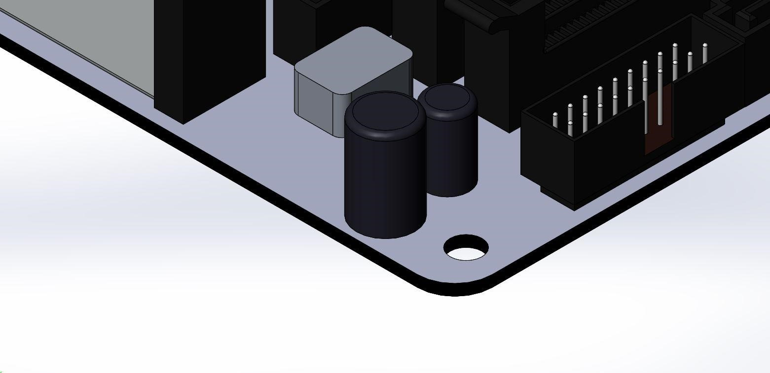 Component with Mounting Hole