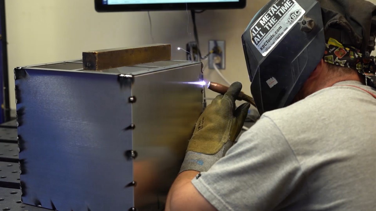 Welding at Protocase