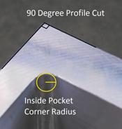 CNC Milling: Corner Radius