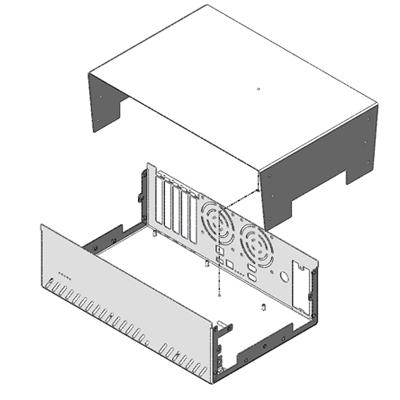 Automatic Enclosure Cad Template Generator