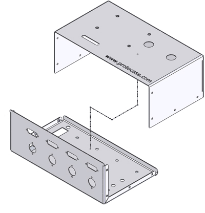 Custom L-Shape Enclosures