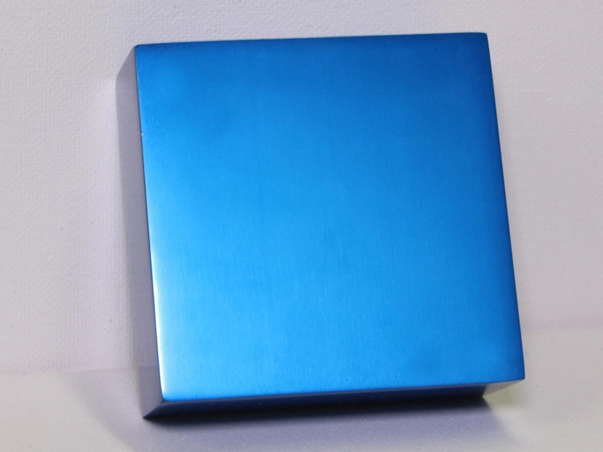 Anodized Aluminum - Blue Dye