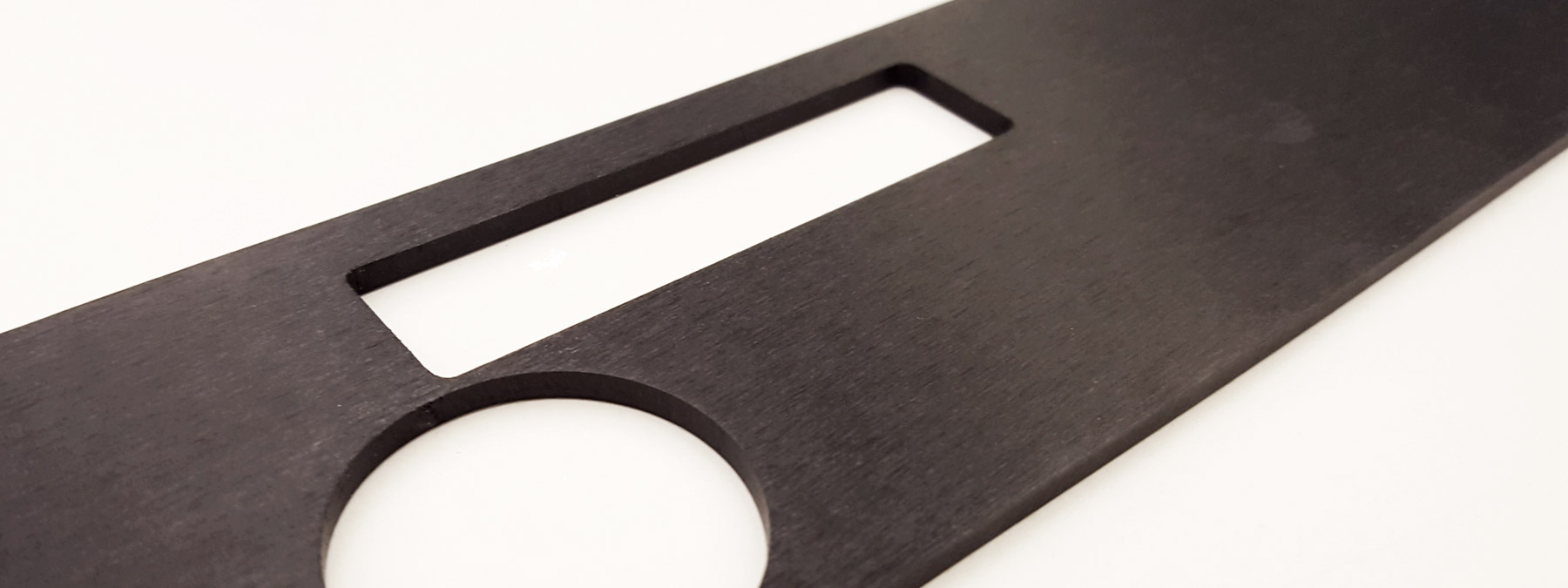 Anodized Aluminum - Black Dye