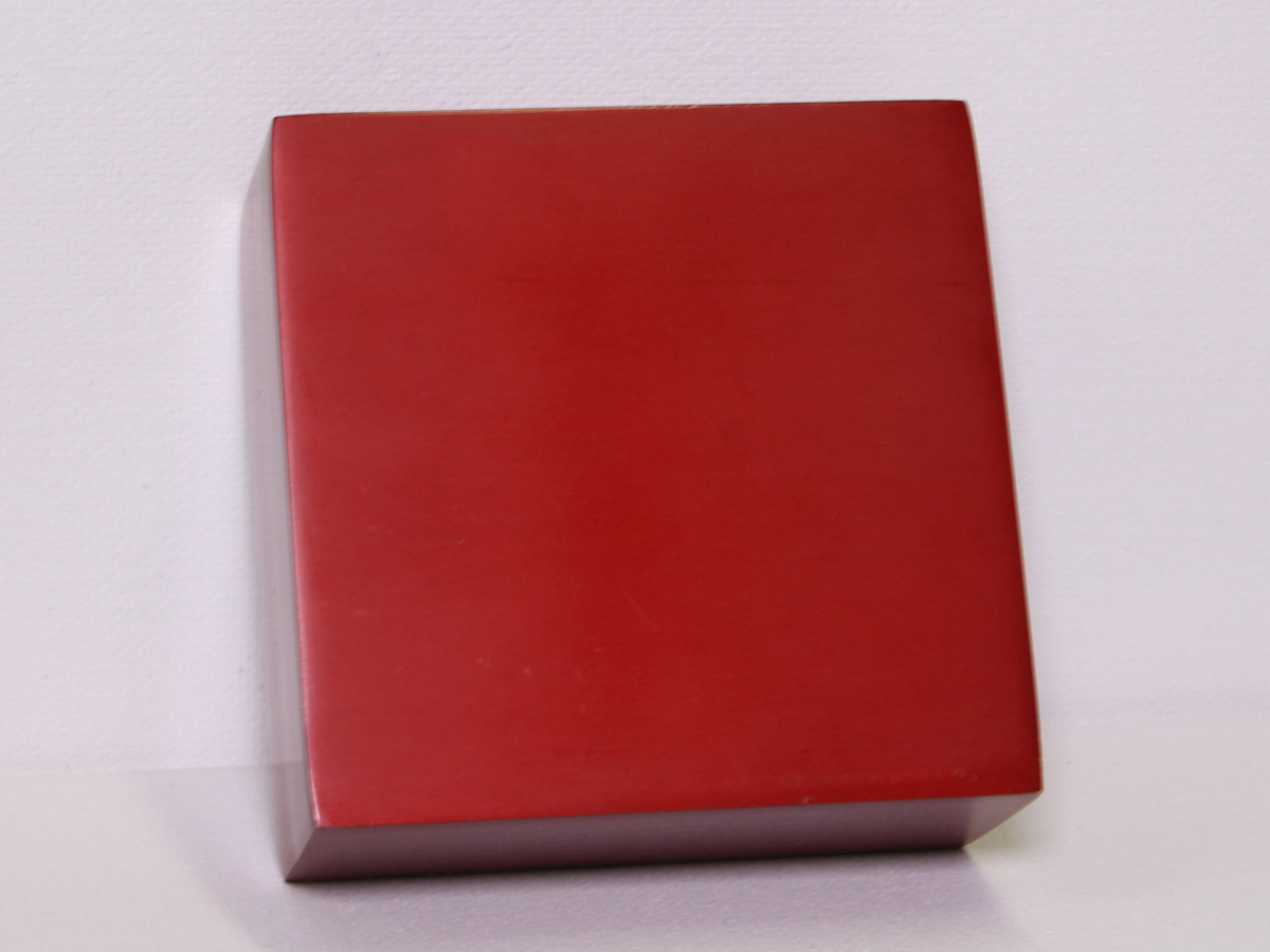 Anodized Aluminum - Red Dye