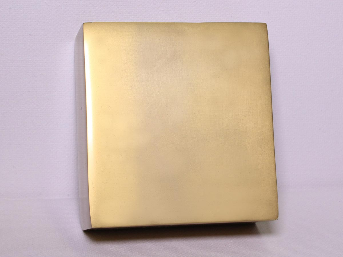 Anodized Aluminum - Tan Dye