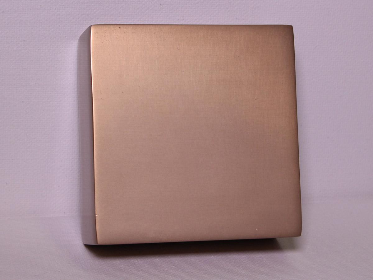 Anodized Aluminum - Taupe Dye