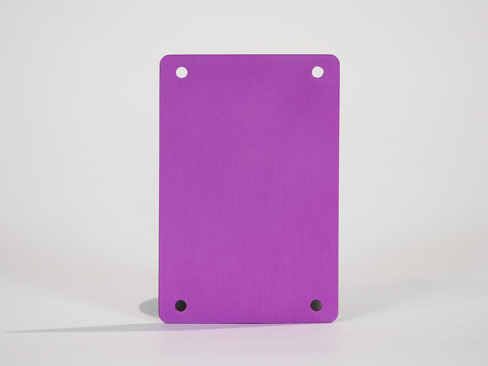 Violet 3D Anodize