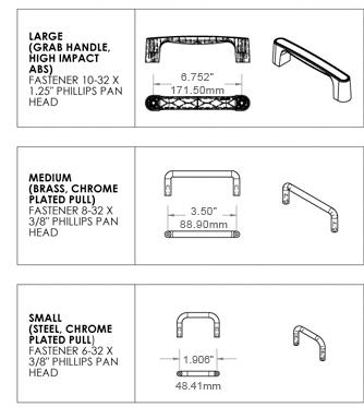 Enclosure Hardware: Rubber Feet