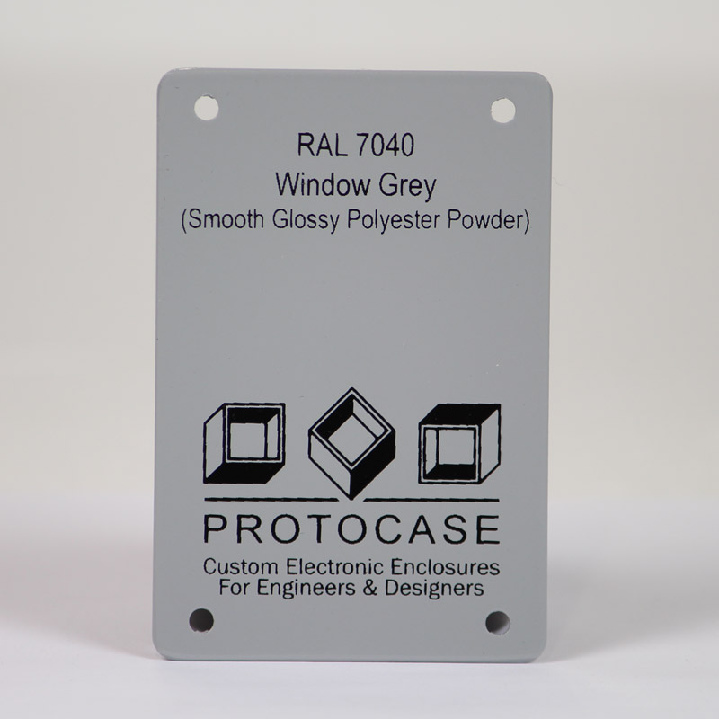 Powder Coat As A Standard Finish For Your Custom Enclosure